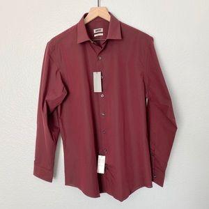 *NEW* UNLISTED Men's Button Up Dress Shirt Slim, M